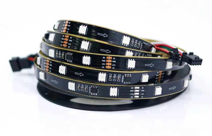 30 LED meter addressable led strip 2818