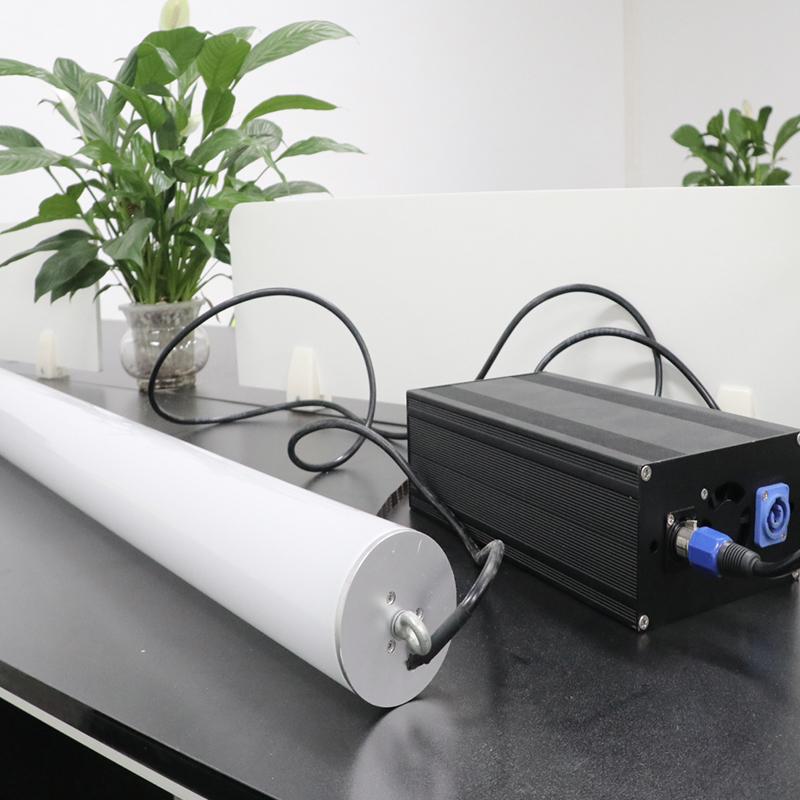 360 degree rgb led tube