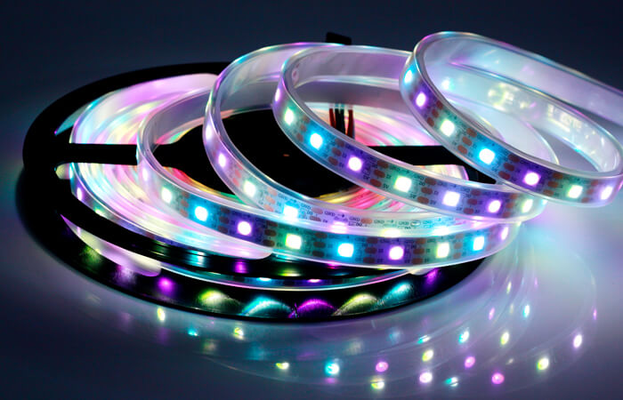 5v rgbw led strip 60led meter sk2812