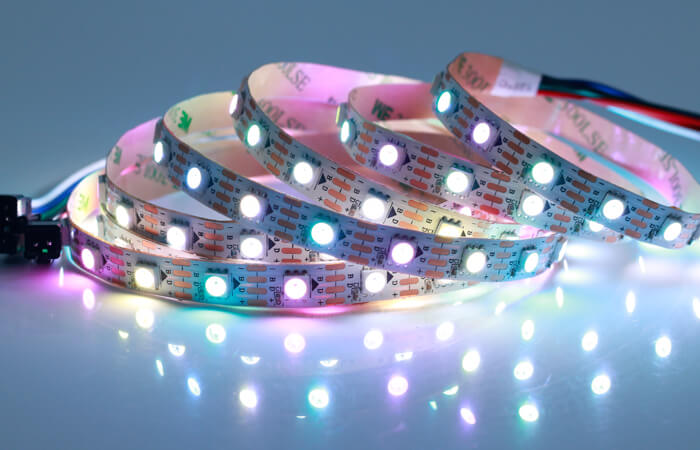 5v rgbw led strip light 60 LEDs per meter