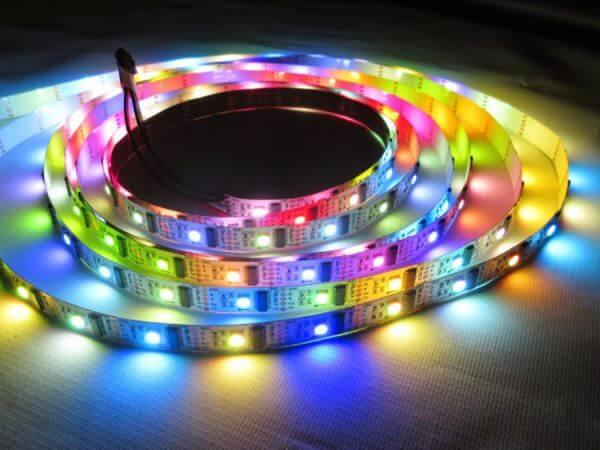 Simple RGB LED lights