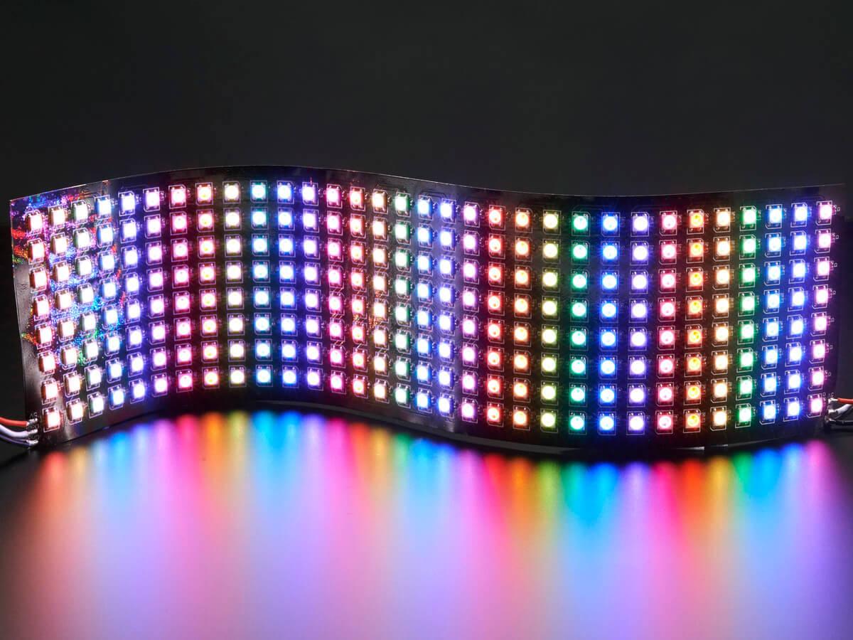 The higher Flexibility of LED Pixel Lights