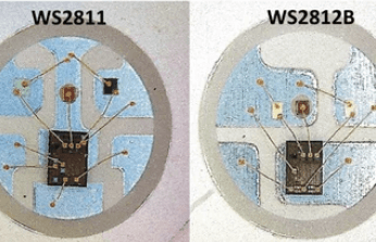 The Difference Between WS2811 and WS2812B