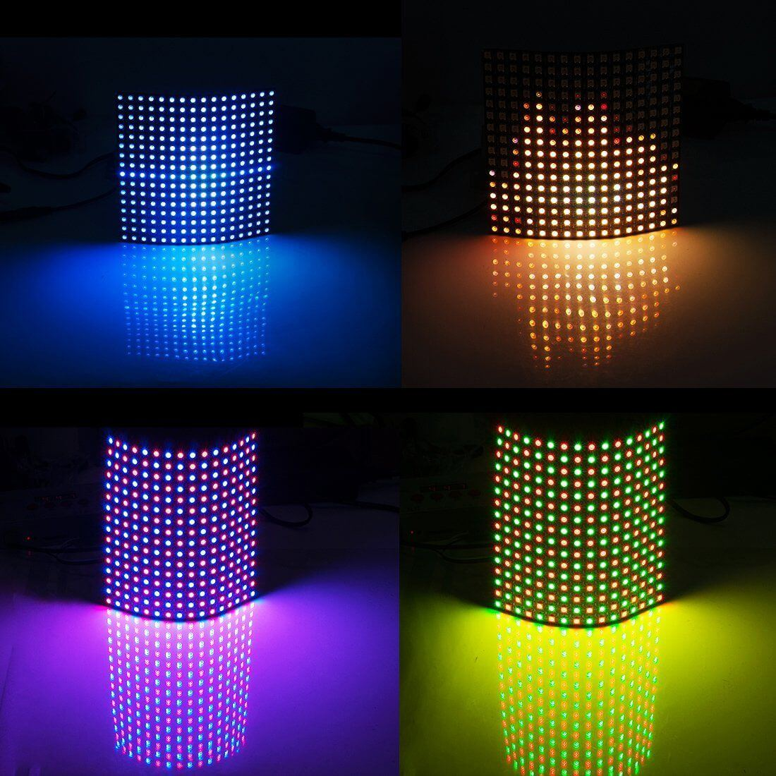 LED Pixel Lights with WS2812 IC