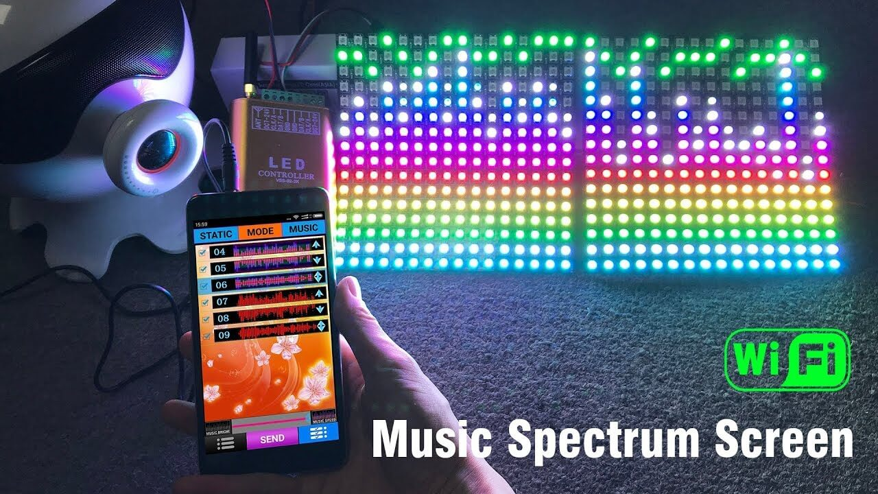 Music Spectrum with WS 2815