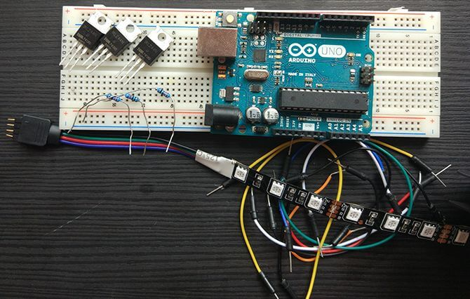 Controlling WS2813 with Arduino