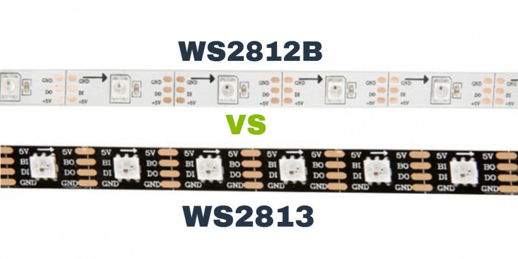 WS2813 VS WS2812B