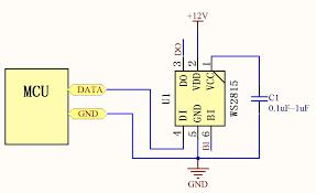 Data Transmission in WS2815