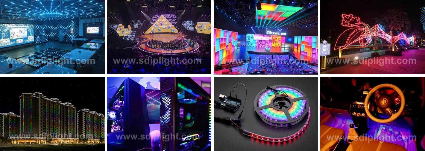 Different Applications of WS2812B LED Strip