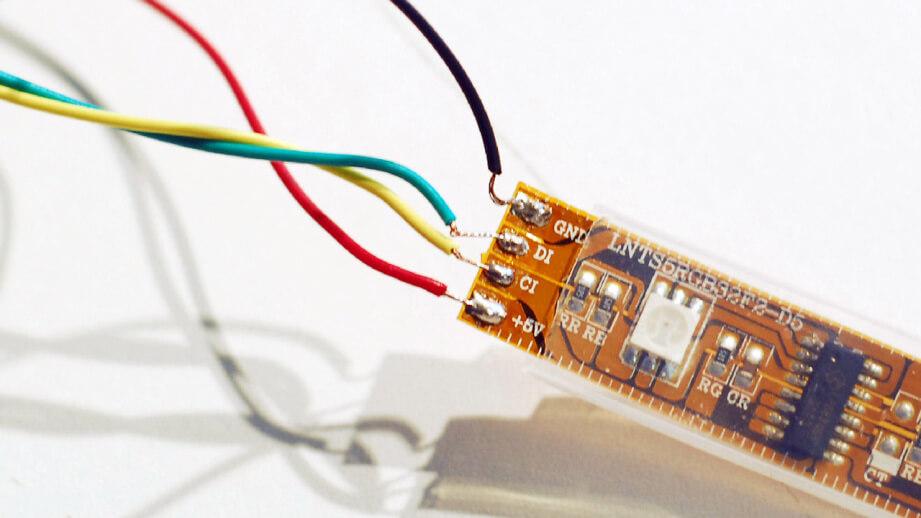 Installing WS2813 LED Strip