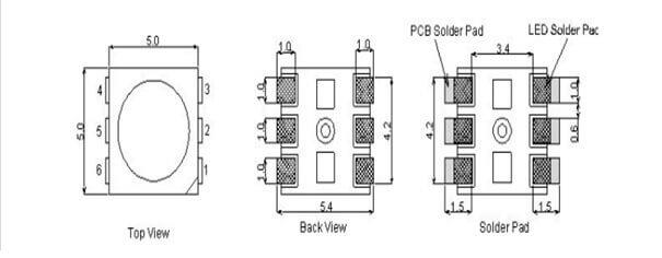WS2813 Wiring Diagram