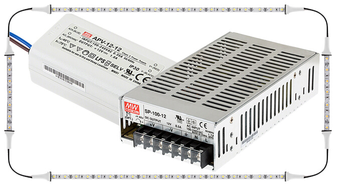 Connecting WS2813to Power supply