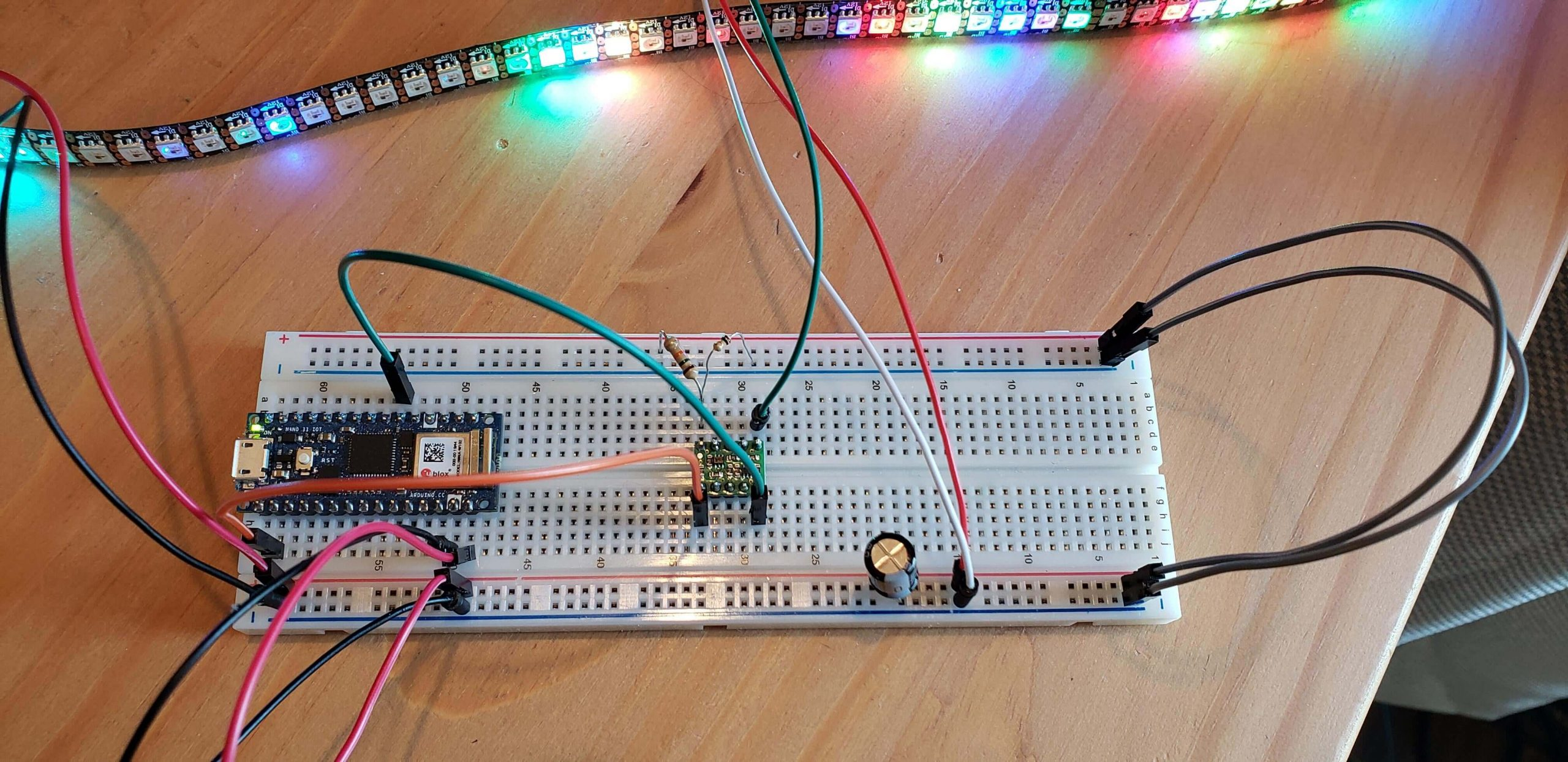 WS2815 LED strip and Controller