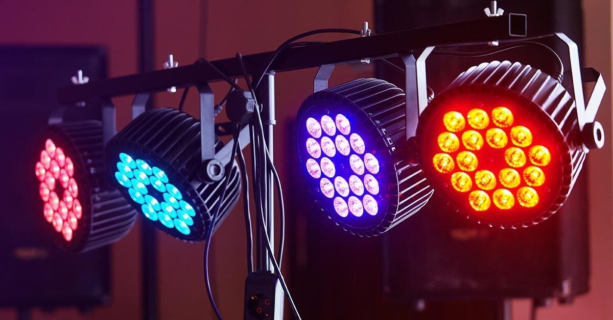 Sync DMX lights with Music