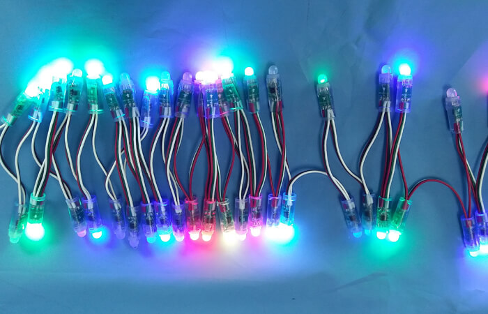 dmx led string lights