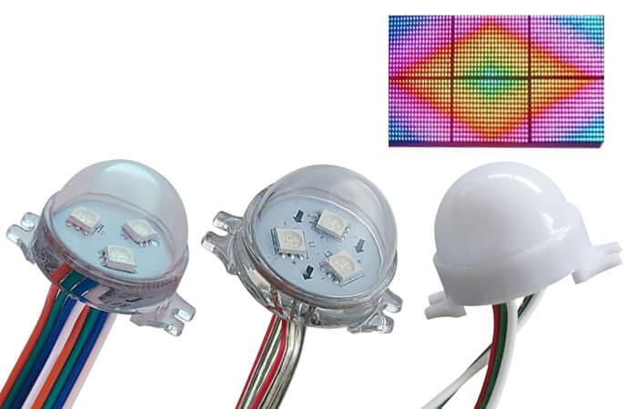 pixel light F30 D30 3 LEDs
