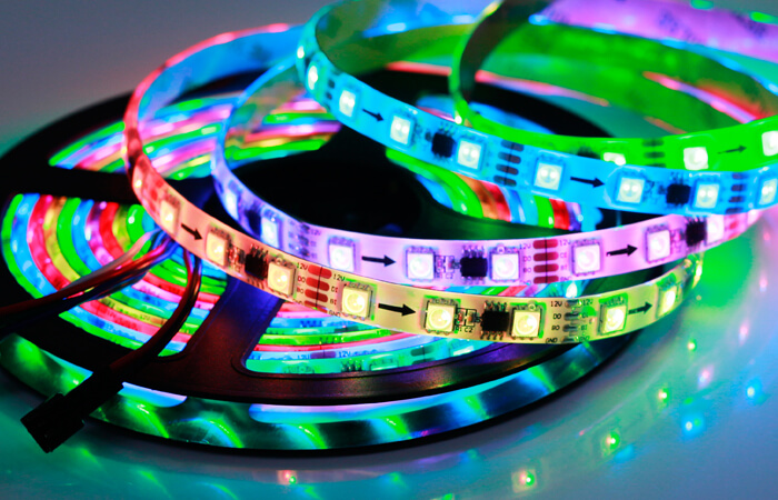 rgb flexible led strip ws2818 60 LEDs