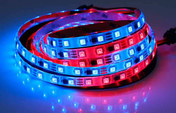 ws2811 led strip silicon gel ip65