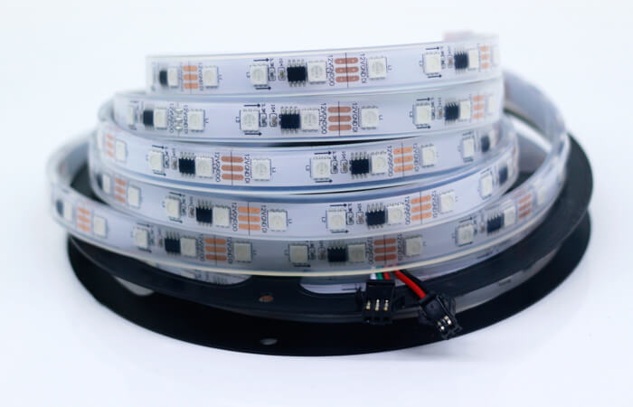 ws2811 led strip silicone tube IP67