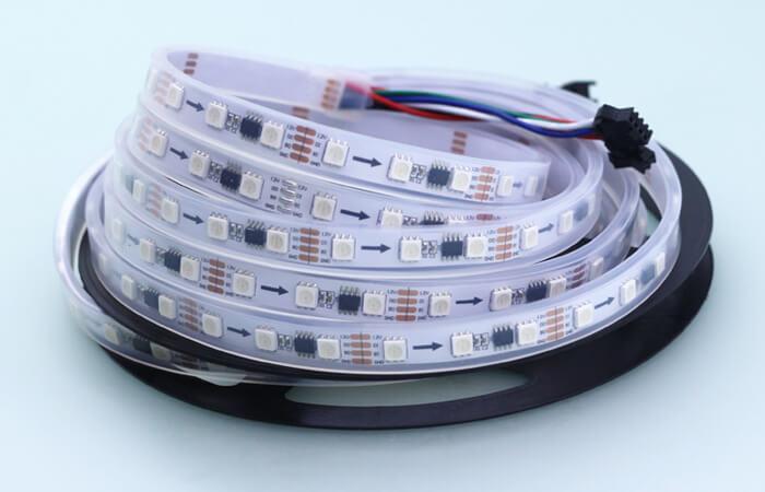 ws2818 led strip 60 LEDs per meter white board