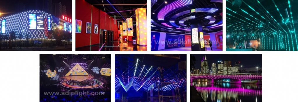 Different Applications of RGB LED Tube Light