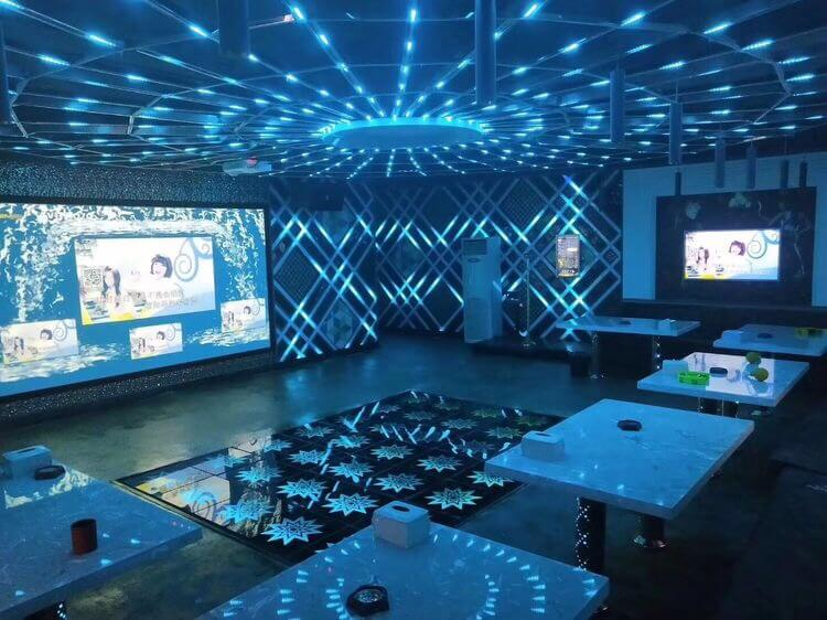 ktv lighting project by ws2813 led