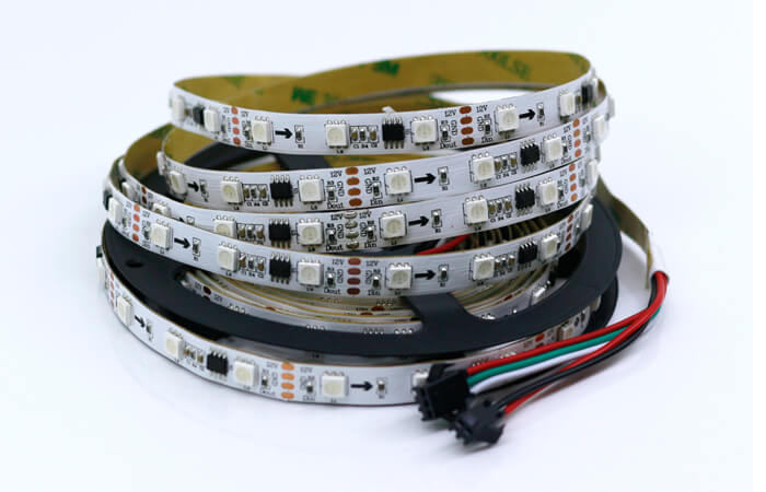 ws2818 led strip 16L 48 LEDs