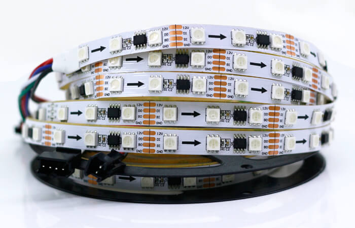 addressable led strip by ws2818