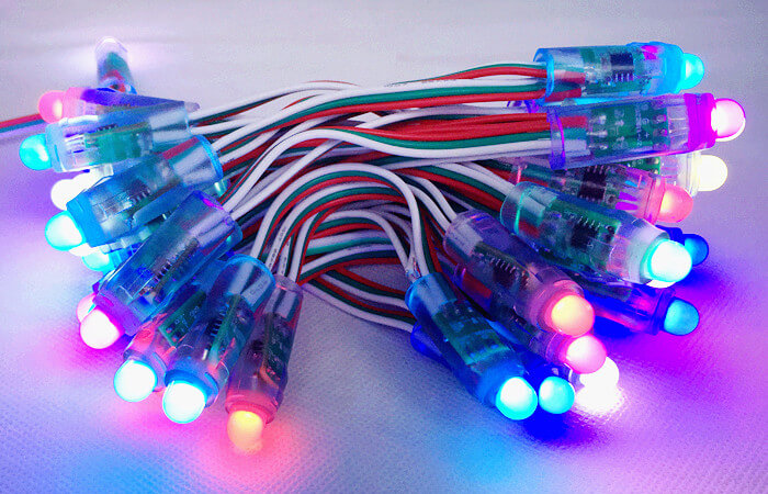 pixel LED string by ws2818 LED