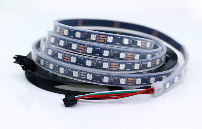 programmable led strip by ws2811