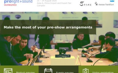 SDIP Light will attend Prolight + Sound Guangzhou 2020, Welcome to join!
