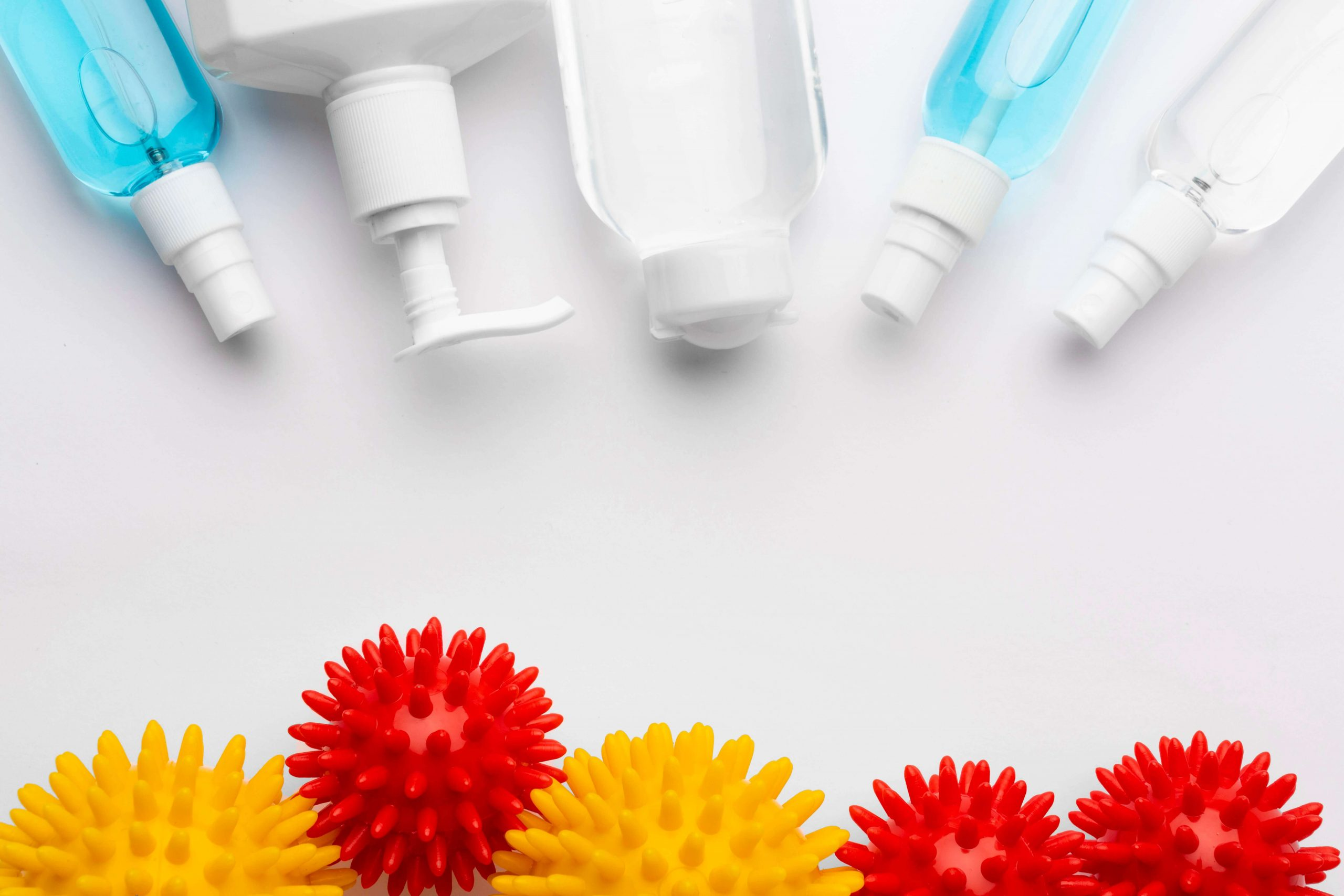 Difference between hand sanitizer spray, gel, and foam