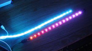 Brightness Test of 5v vs 12V Addressable LED Strips