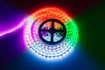 Multicolour RGB LED strip Roll