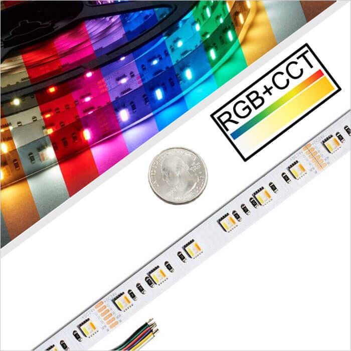 RGB CCT-LED-Strip-Light