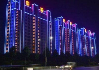 LED Neon Flex for Building Exterior
