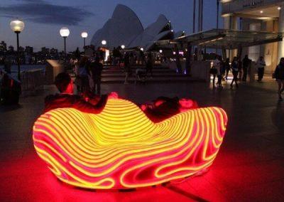 Neon LED Strip Light for City Decoration