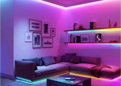 RGB LED Strip For Drawing Room