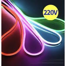 220V neon flex waterproof light