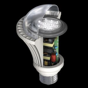 Non-repairable LED Bulb