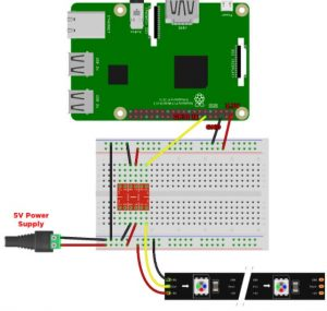 Connecting LED Strips to Raspberry Pi