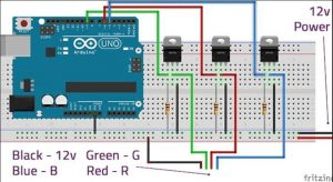 Connecting LED Strips to Arduino