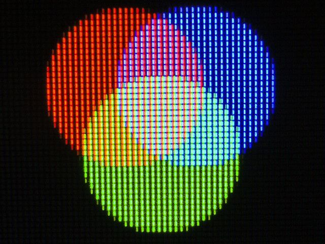 A Pixel Containing RGB LEDs