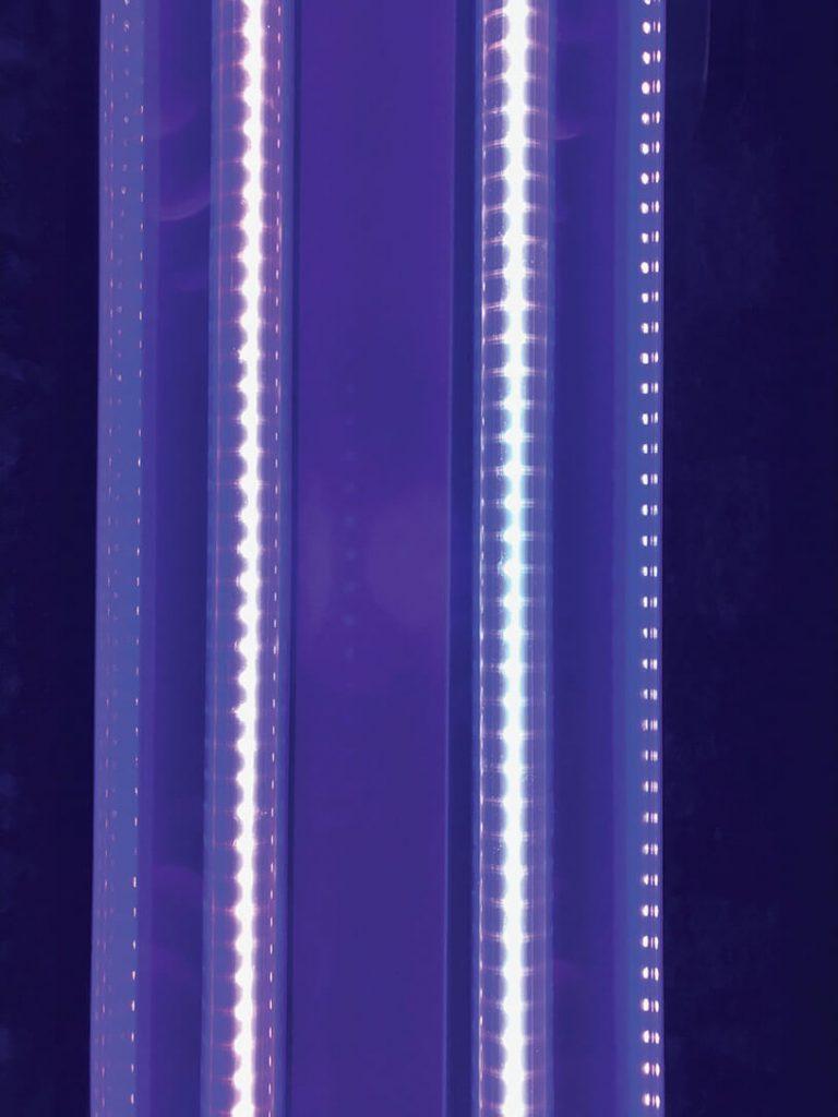 Blue LED Bar Pixel Lights