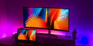 Indoor Application of LED Light Strips - TV