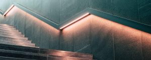 Indoor Application of LED Light Strips - Stairs