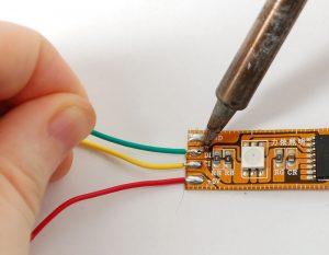 Soldering LED Light Strips