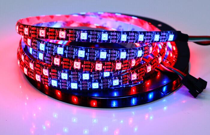 Brightness of an individually addressable LED strip