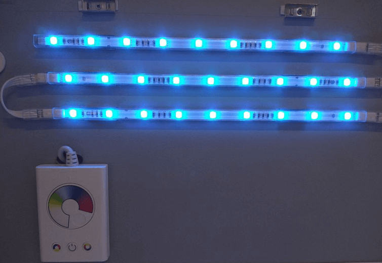 Wall mounted 5ft IP65 LED strip