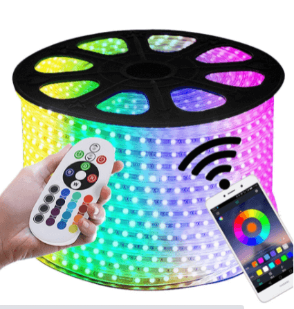 Using remote controller software on waterproof IP65 LED strip lights
